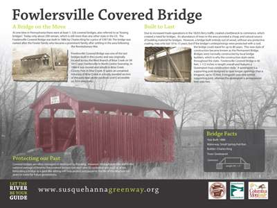 Fowlersville Covered Bridge