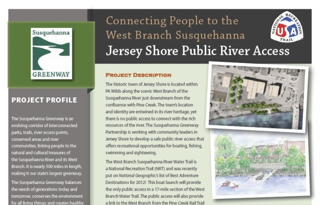 Jersey Shore Public River Access