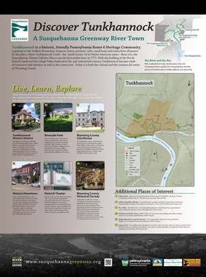 Tunkhannock River Town Panel